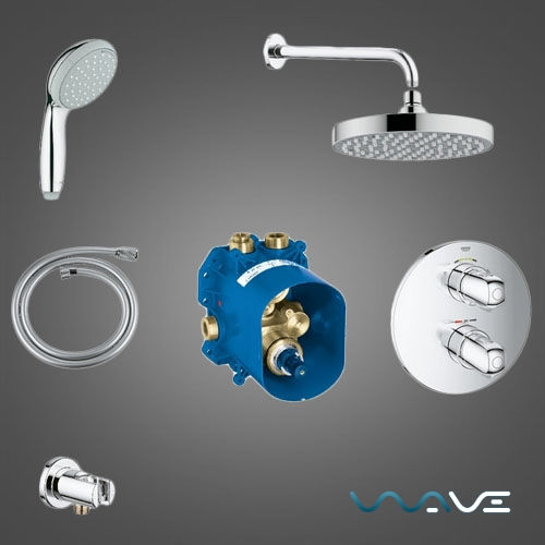 Grohe Grohtherm 1000 (3461400A) - фото