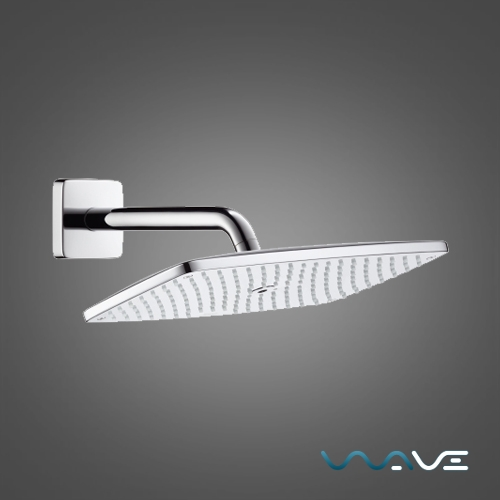 Чертеж для верхнего душа Hansgrohe Raindance E 360 Air 1jet (27371000)