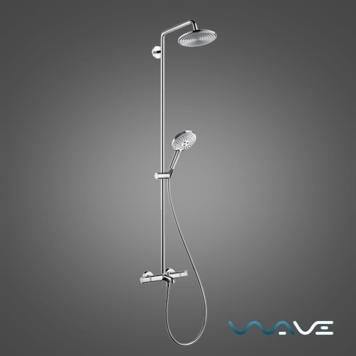 Hansgrohe Raindance Select S 240 Showerpipe (27117000) - фото