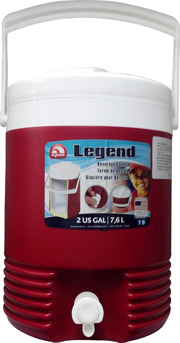Чертеж для термобокса Igloo Legend 2 Gallon (2214)