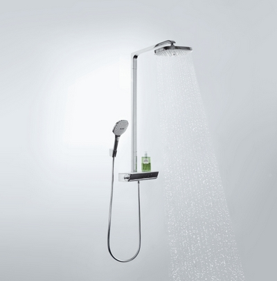 Hansgrohe Raindance Select E 300 2jet Showerpipe (27128000) - фото 1