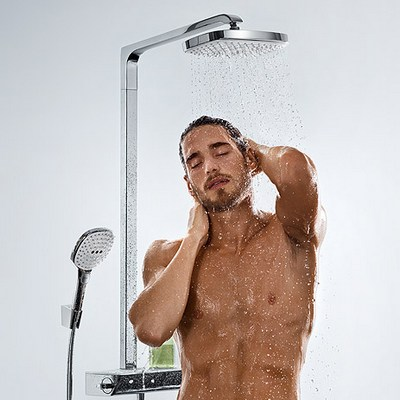 Hansgrohe Raindance Select E 300 2jet Showerpipe (27128000) - фото 2