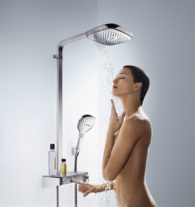 Hansgrohe Raindance Select E 300 3jet Showerpipe (27127400) - фото 2