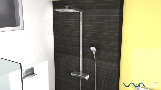 Hansgrohe Raindance Select E 360 Showerpipe (27113000) - фото 1