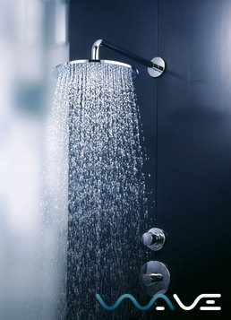 Чертеж для верхнего душа Hansgrohe Raindance S 300 Air 1jet (27493000)