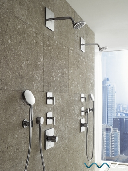 Чертеж для ручного душа Hansgrohe Raindance S 150 Air 3jet (28519000)