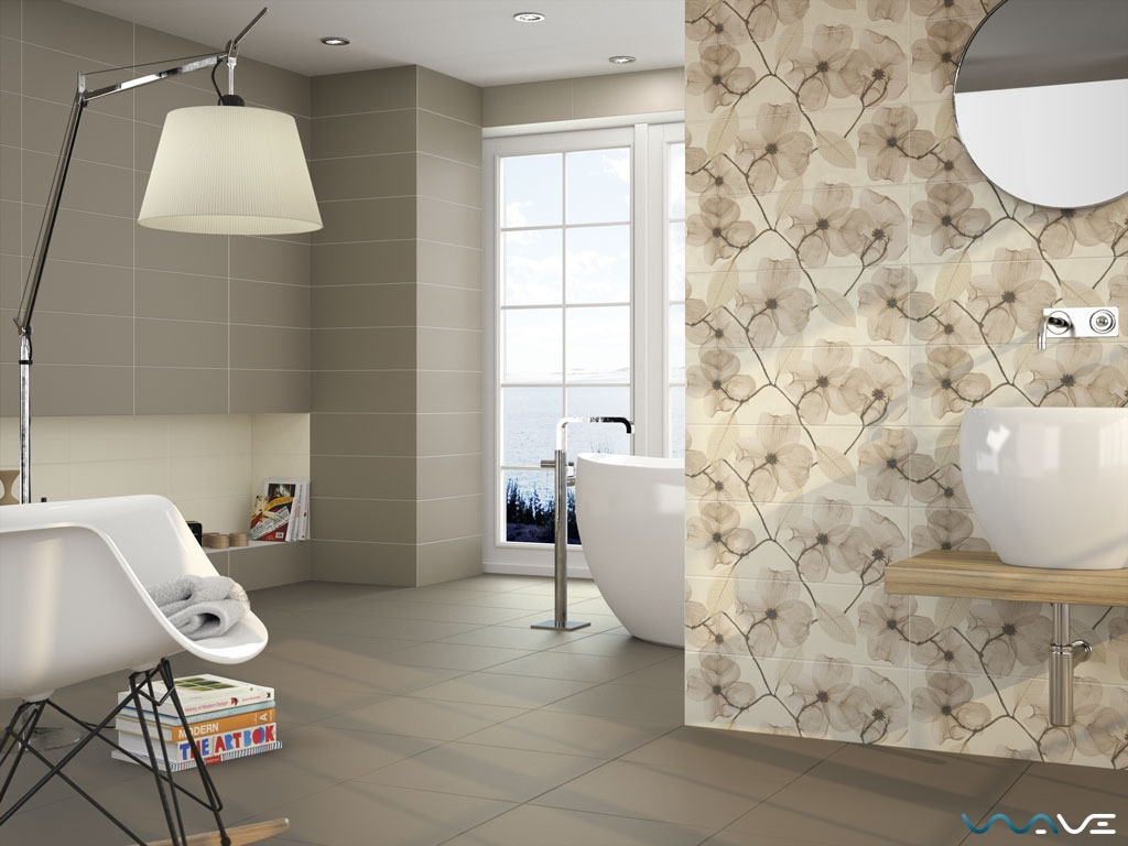 APE CERAMICA DECOR SET(2) MOIRA BEIGE (A018529) - фото 1
