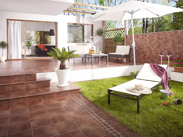 OPOCZNO SOLAR BROWN KAPINOS STRAIGHT STRUCTURE 30x33 - фото 1