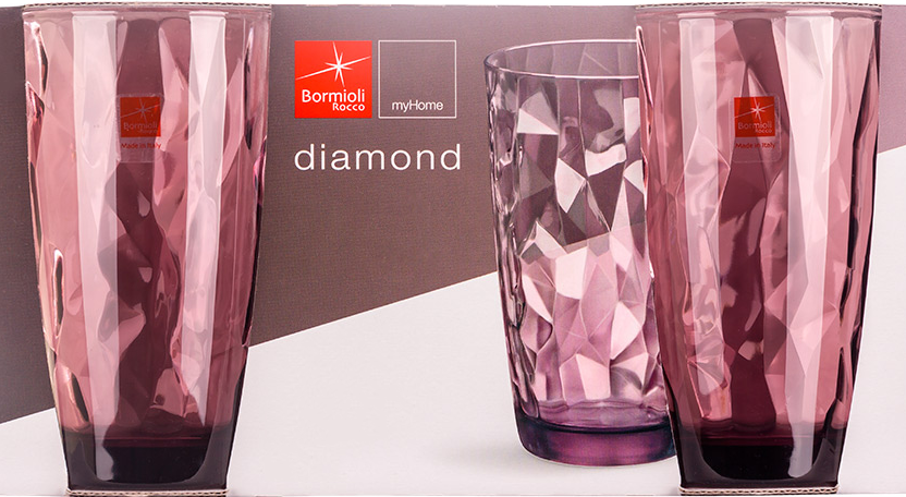 Bormioli Rocco Diamond Rock Purple (350270M02321990) - фото 2